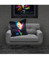 Rhino black cotton blend cushion 55cm Sale - 1Wall Sale