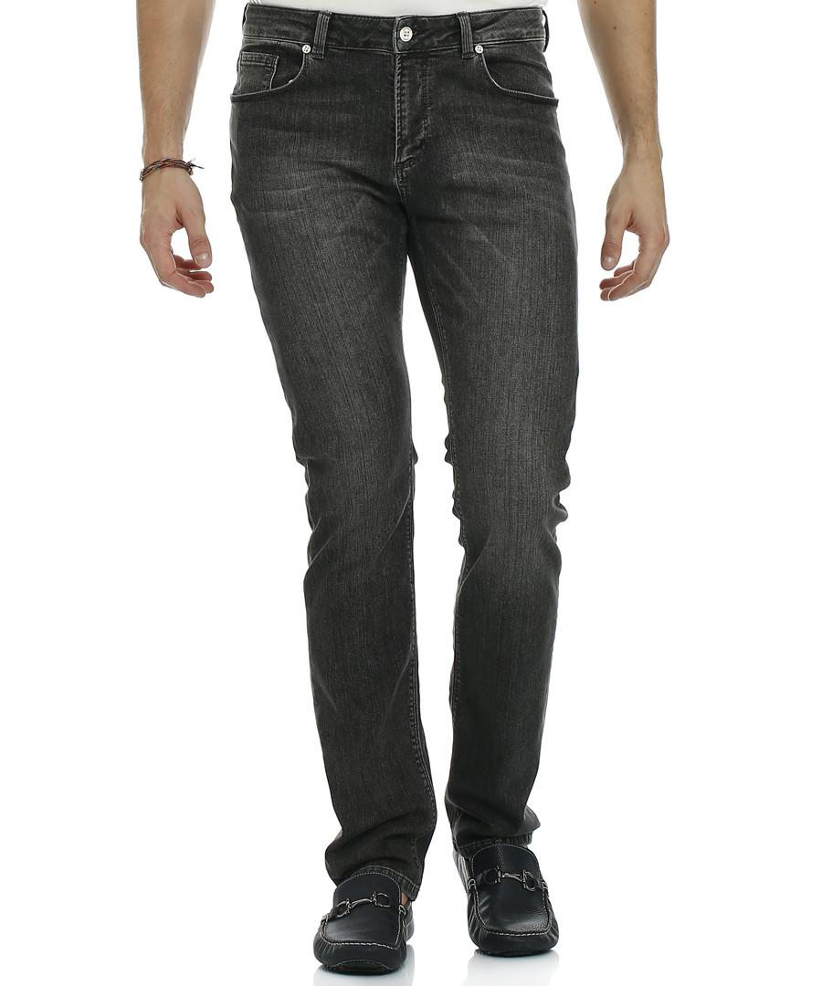 Buckland black cotton blend jeans Sale - galvanni