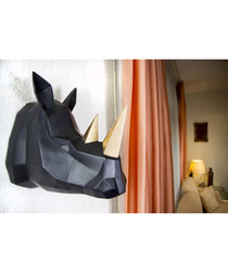 Contemporary Geometric rhino hanger