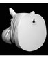 White hippo flower pot Sale - Walplus Sale