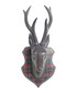 Grey elk head head wall decoration Sale - Walplus Sale