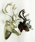 Gold-tone deer head wall decoration Sale - Walplus Sale