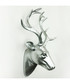 Silver-tone deer head wall decoration Sale - Walplus Sale