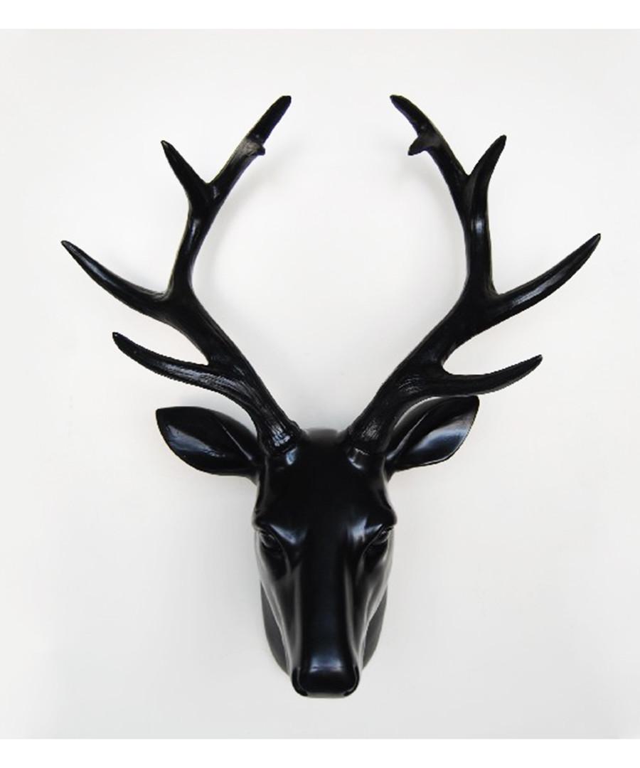 Black deer head wall decoration  Sale - Walplus