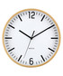 Natural-tone timber wall clock  Sale - Walplus Sale