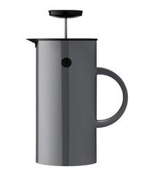 EM Press grey steel tea maker 1L