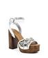 White leather butterfly platform sandals Sale - versace 1969 abbigliamento sportivo srl milano italia Sale