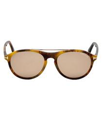 Cameron Havana gradient sunglasses