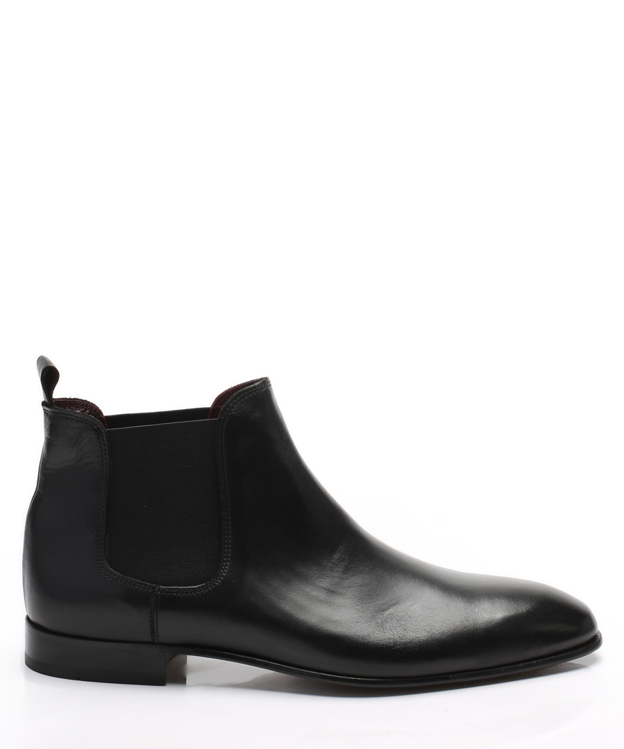 Black leather Chelsea boots Sale - s baker