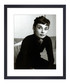 Audrey Hepburn, 1954 framed print 36cm Sale - wall art Sale