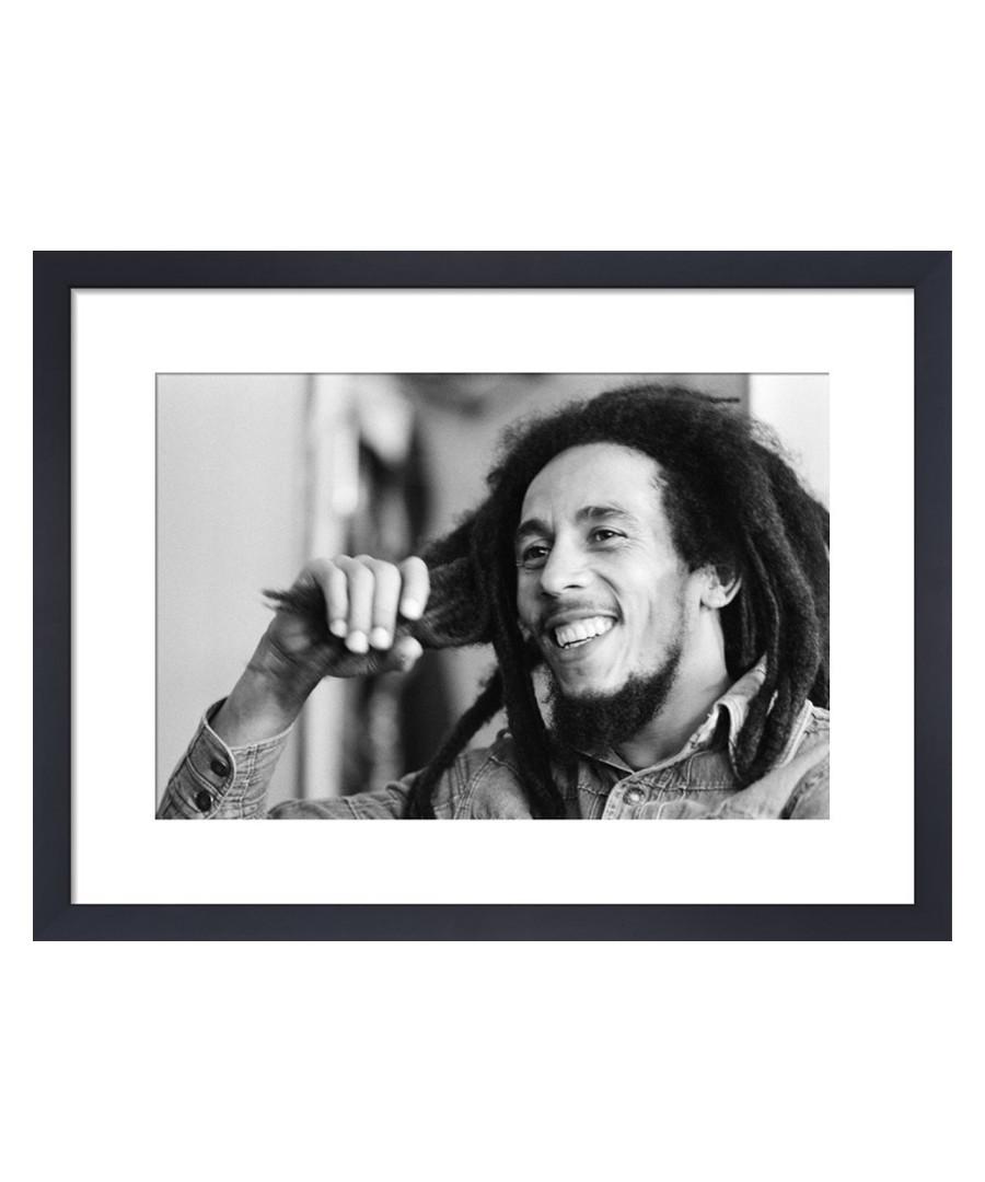 Bob Marley, June 1978 framed print 36cm Sale - The Art Guys