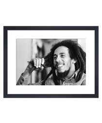 Bob Marley, June 1978 framed print