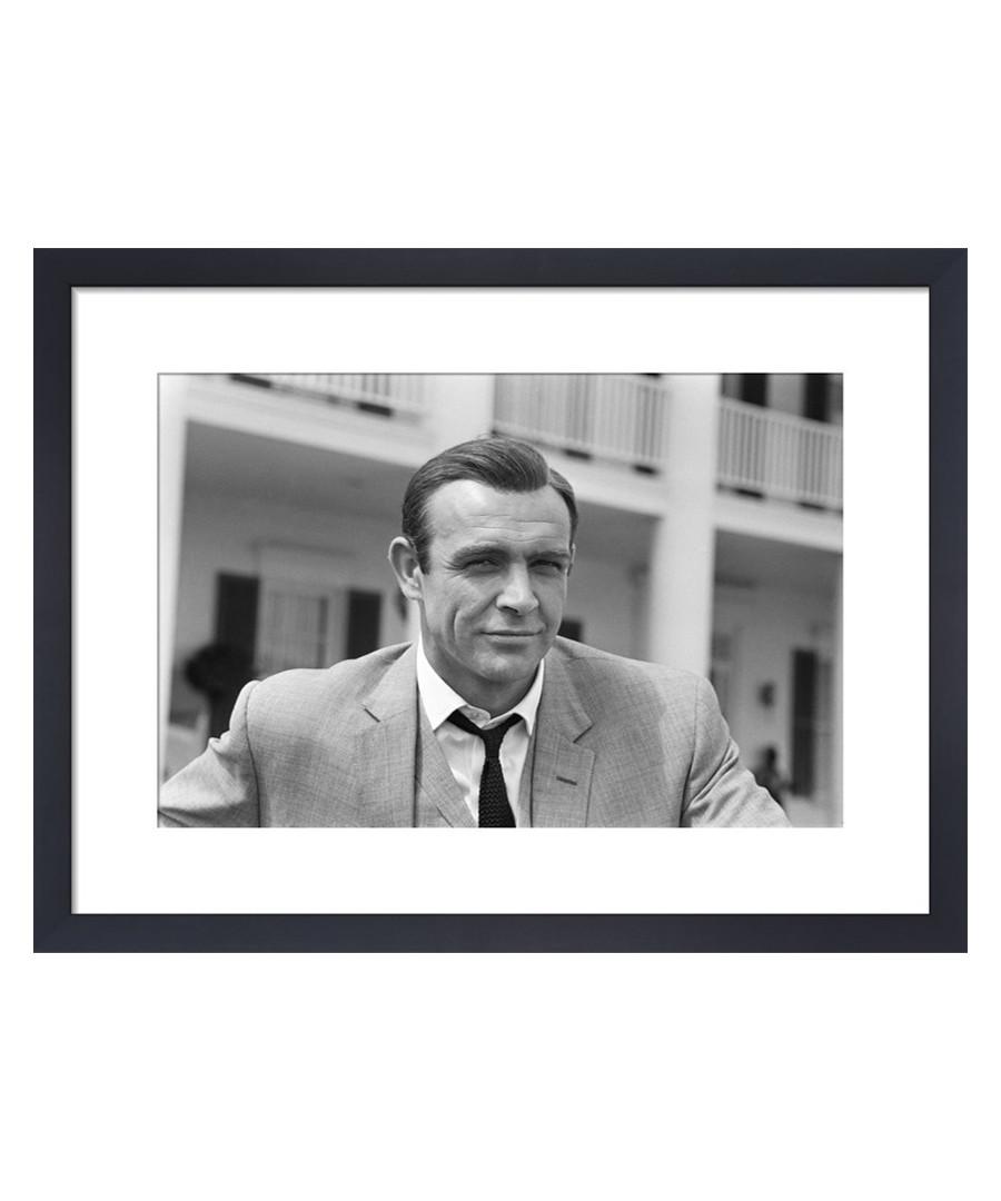 Sean Connery June 1964 framed print 36cm Sale - wall art
