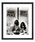 John Lennon & Yoko Ono framed print 36cm Sale - The Art Guys Sale