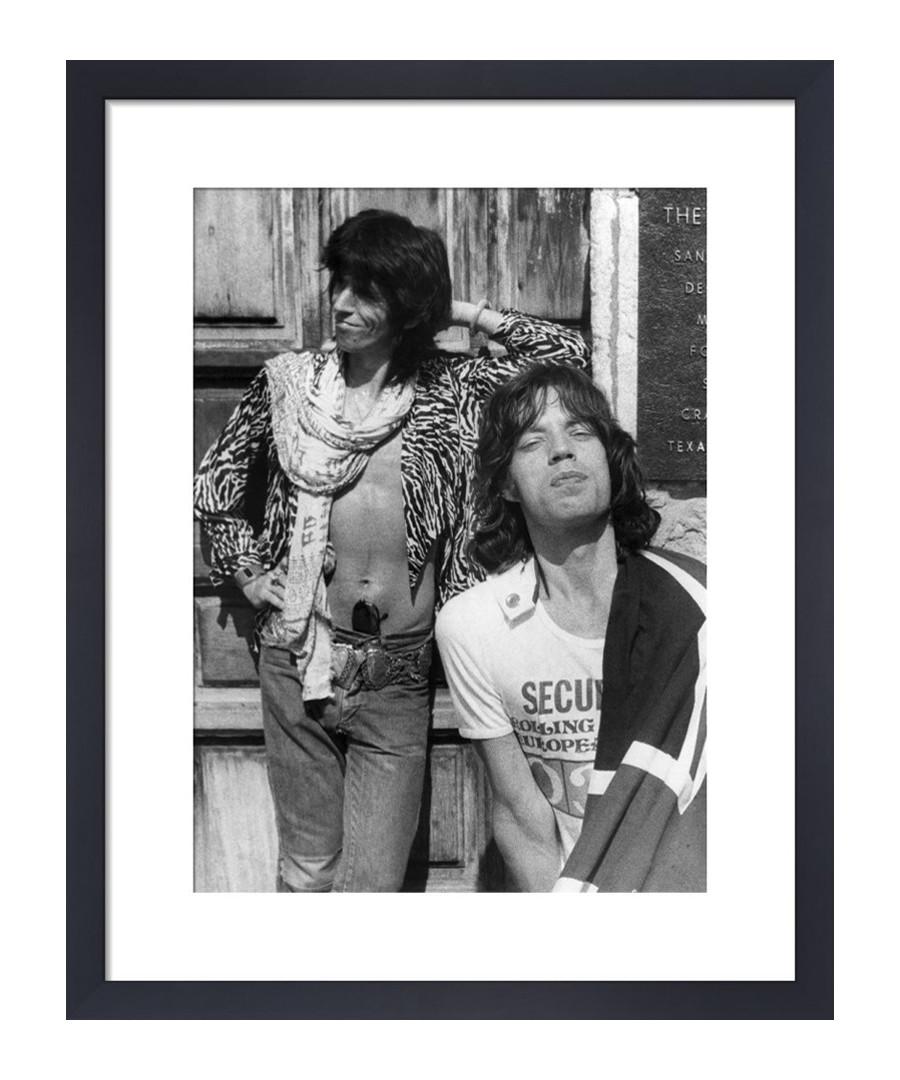 The Rolling Stones, 1975 framed print 36cm Sale - The Art Guys