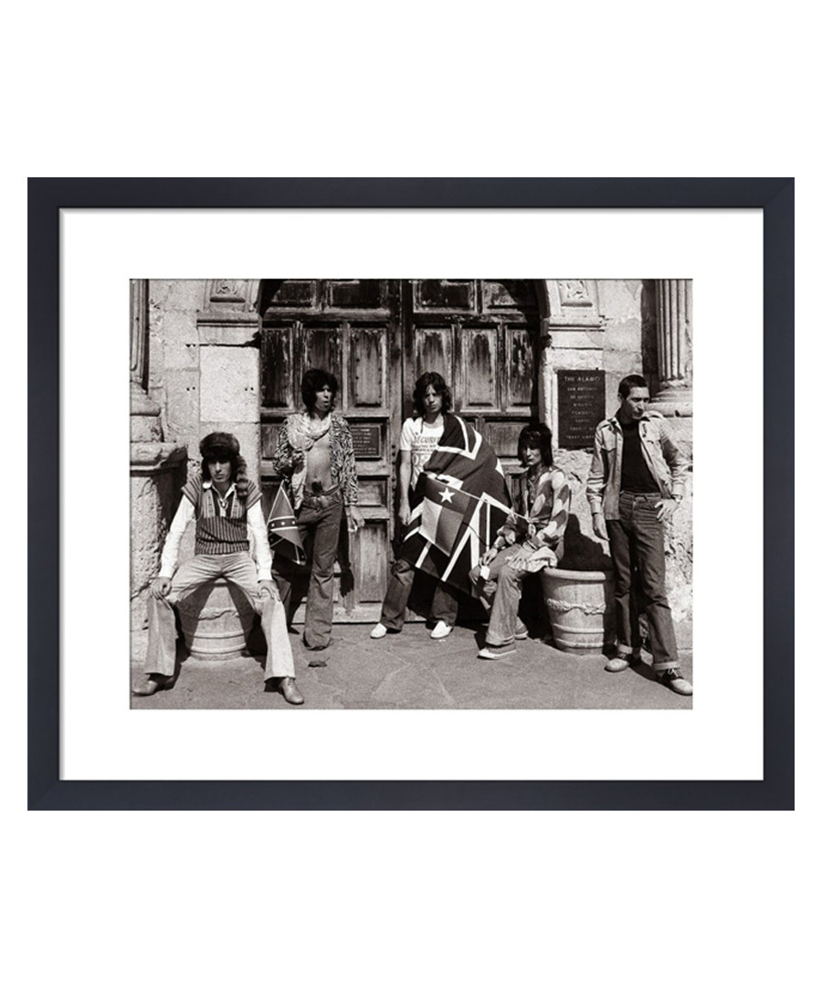The Rolling Stones framed print 36cm  Sale - The Art Guys