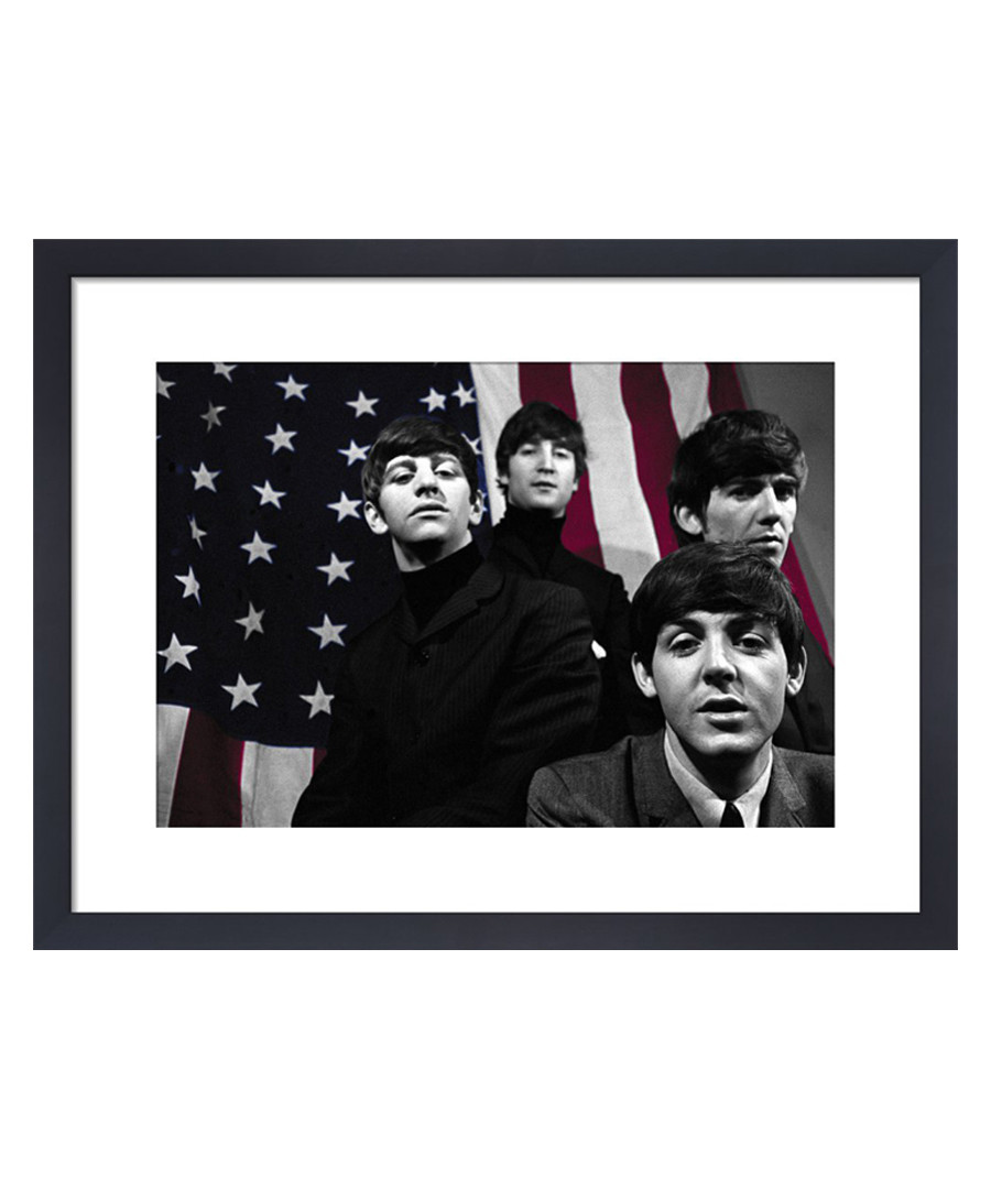 The Beatles, April 1964 framed print 36cm Sale - The Art Guys