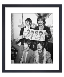The Beatles, May 1967 framed print
