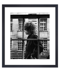 Bob Dylan, May 1966 framed print
