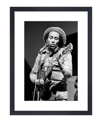 Bob Marley, June 1978 framed print