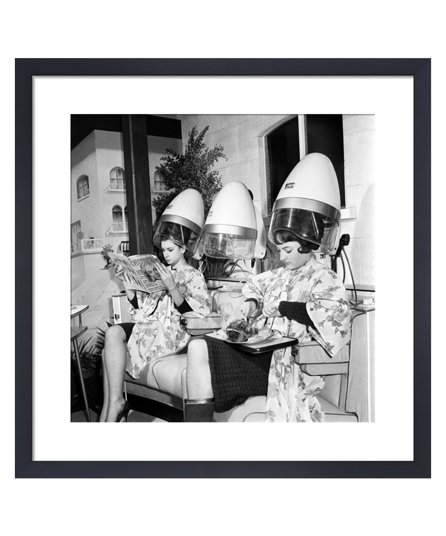 Mr John's Hairdresser, 1965 framed print Sale - wall art