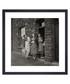 Women on Doorstep, 1950s framed print Sale - wall art Sale