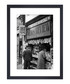 Newspaper Vendor, 1950 framed print Sale - wall art Sale