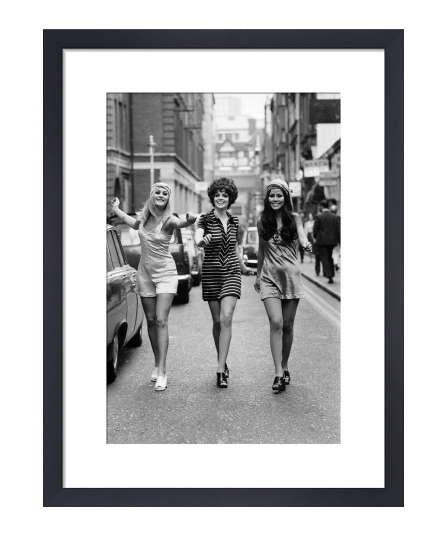 Fashion Models, London 1969 framed print Sale - wall art