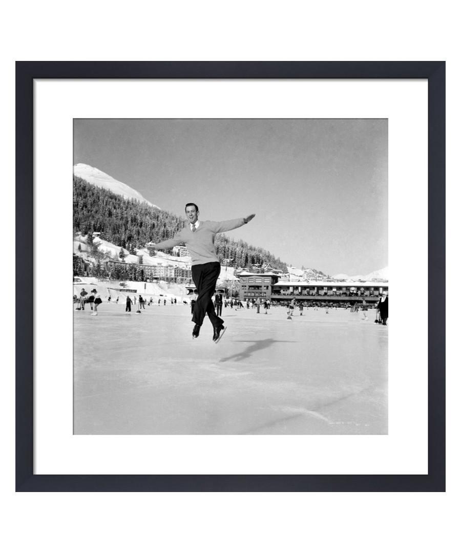 Ice Skating, 1953 framed print Sale - wall art