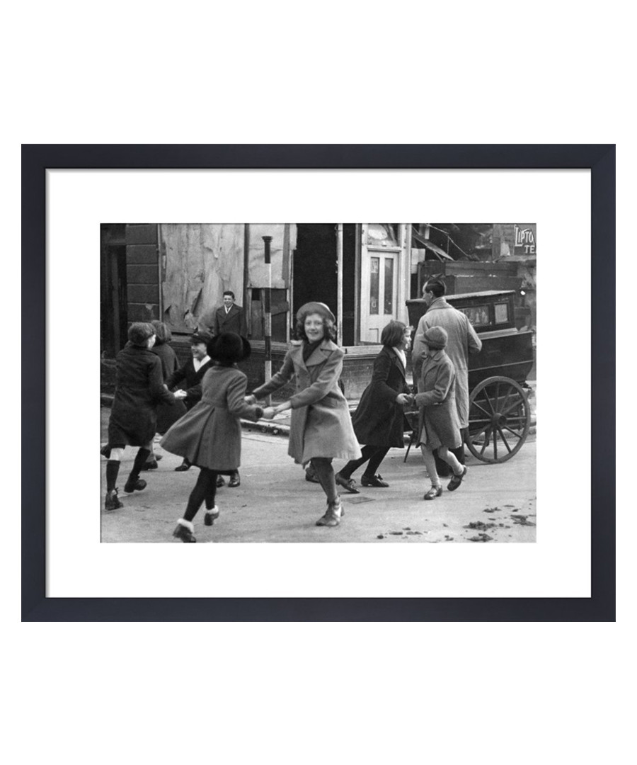 Barrel Organ, London 1941 framed print Sale - wall art