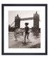 Children & Tower Bridge framed print Sale - wall art Sale