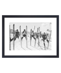 British Ski Team, 1976 framed print