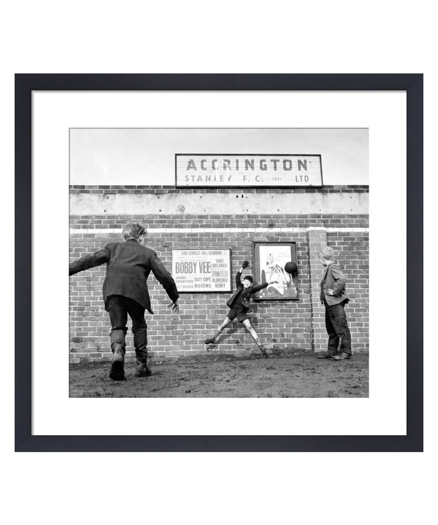Accrington Stanley, 1962 framed print Sale - wall art