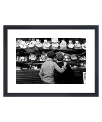 Cake Shop Window, 1935 framed print