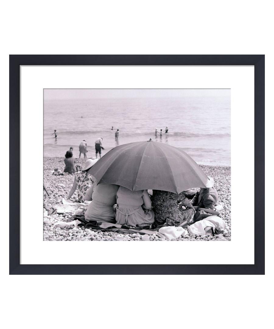 Beach Umbrella, 1963 framed print Sale - wall art