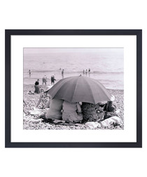 Beach Umbrella, 1963 framed print