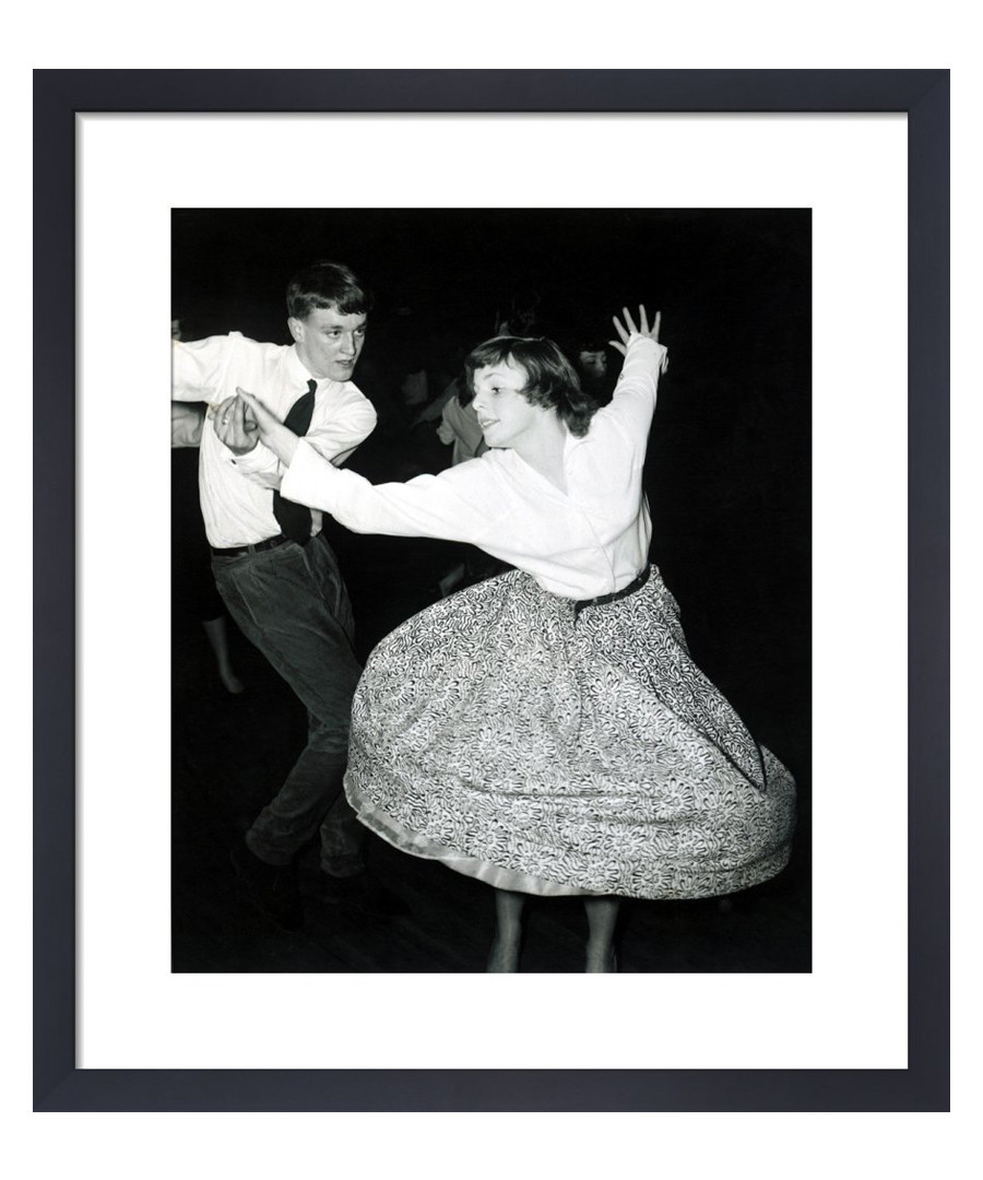 Couple Jiving, 1957 framed print Sale - wall art