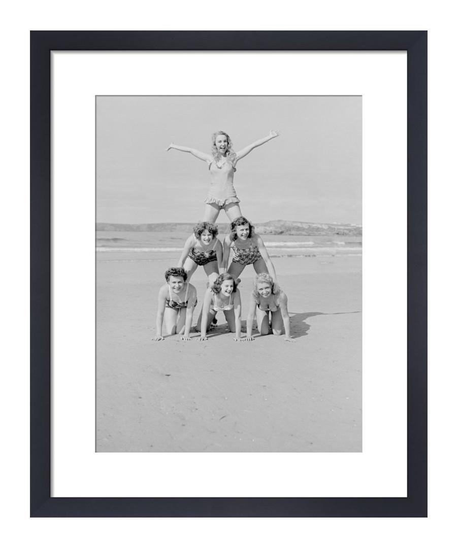 On The Beach, Newquay 1952 framed print Sale - wall art