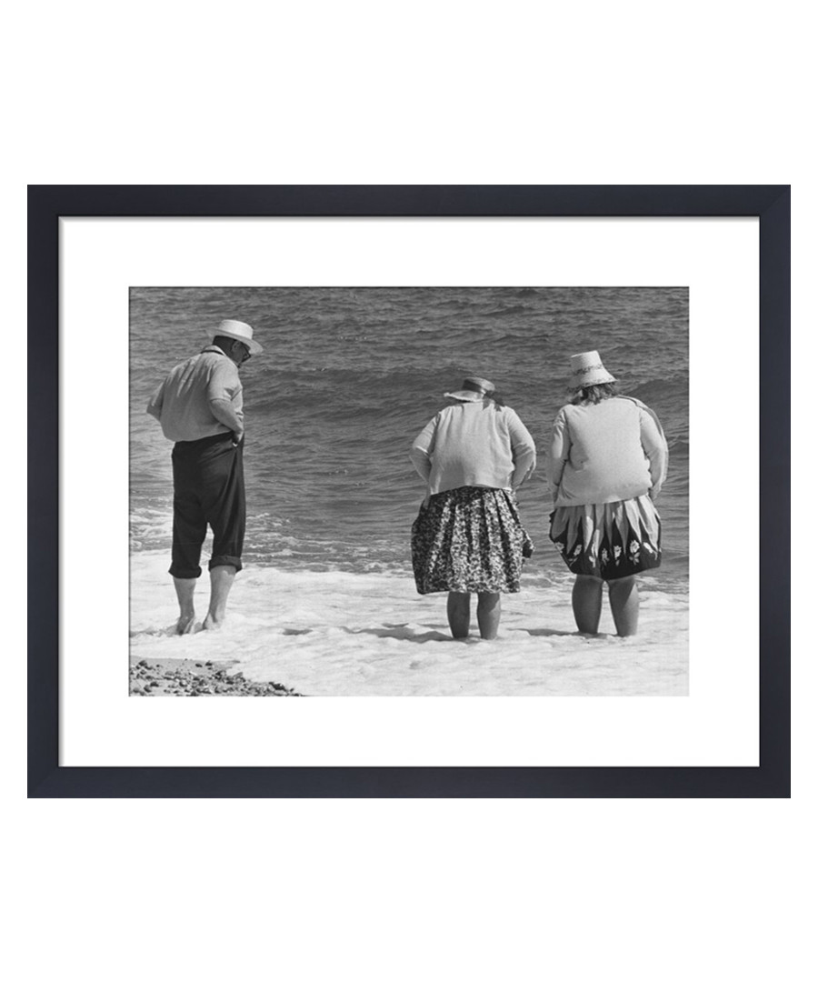 Paddling In The Sea, 1963 framed print Sale - wall art