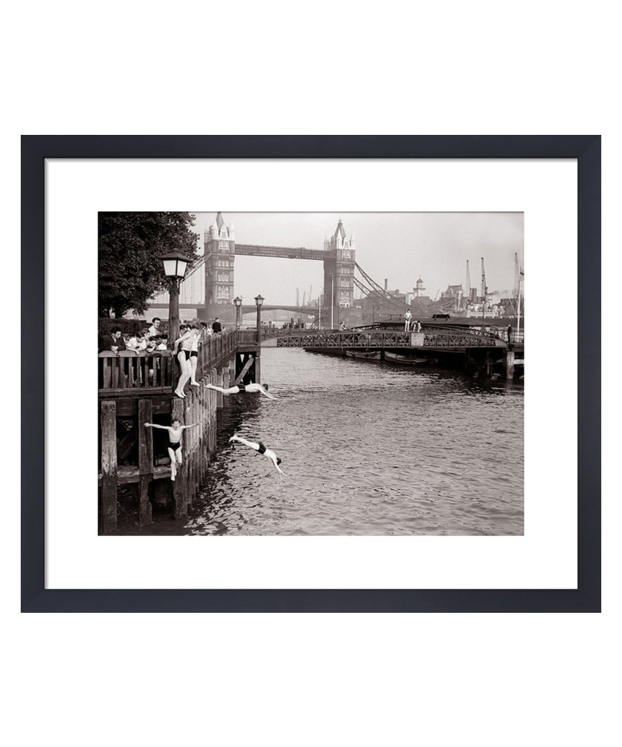 Tower Bridge, June 1952 framed print Sale - wall art