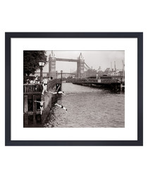 Tower Bridge, June 1952 framed print