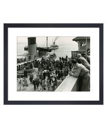 Dunoon Pier, 1957 framed print