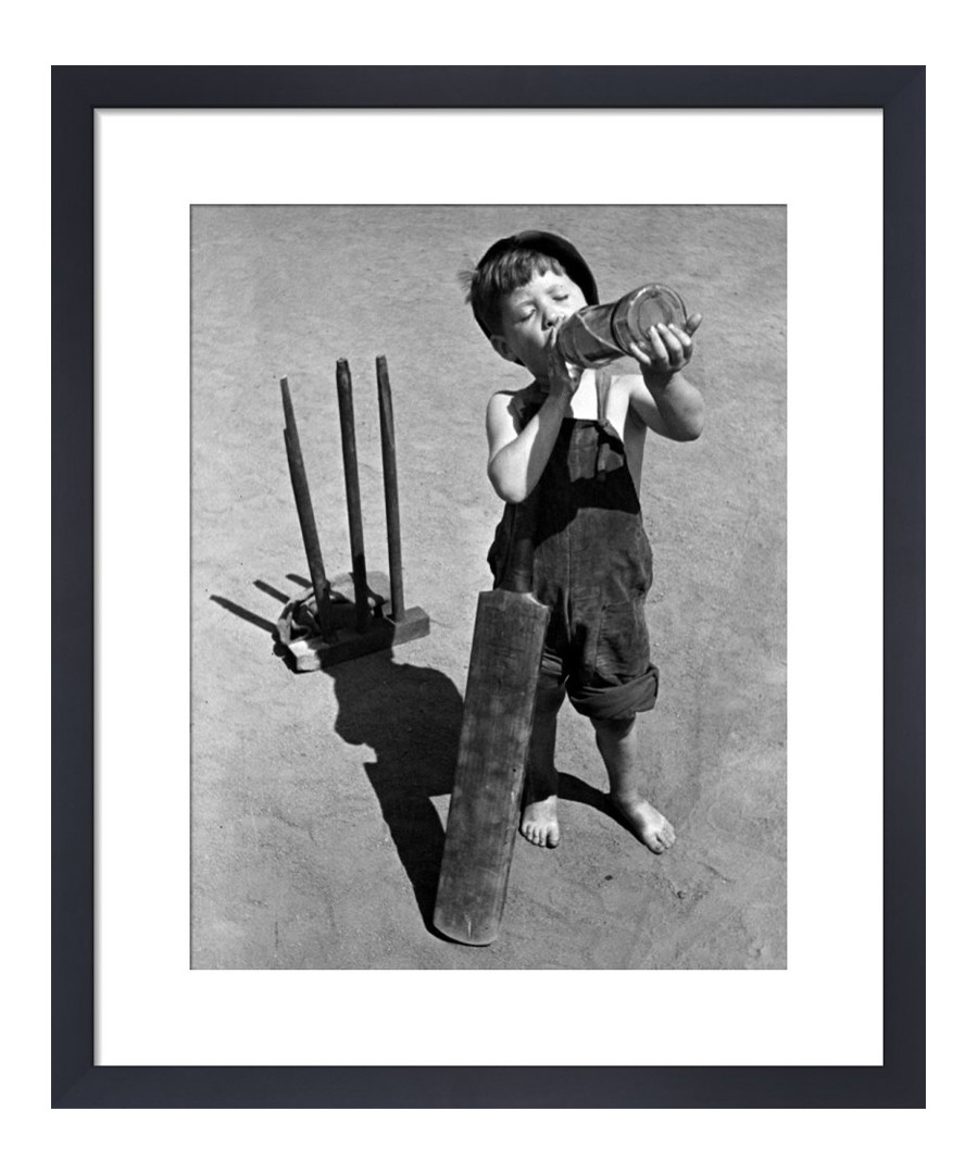 Cricket Boy, 1948 framed print Sale - The Art Guys