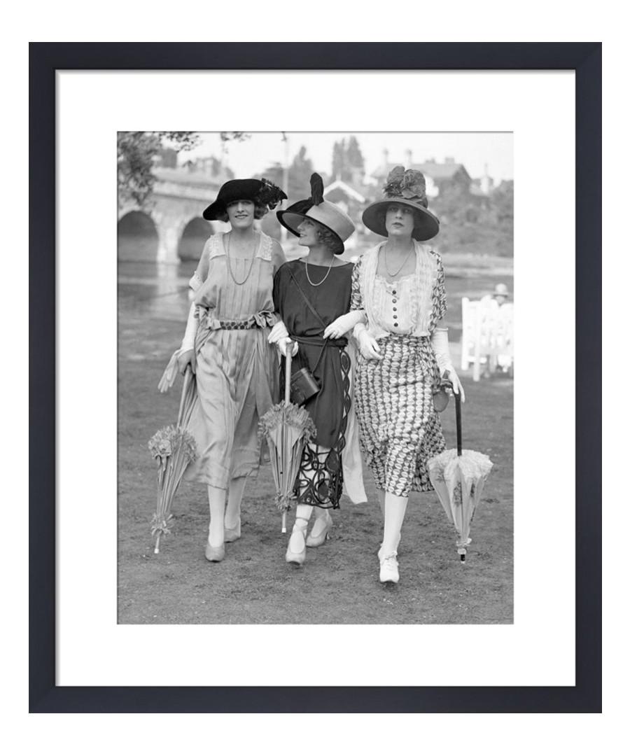 Ascot Fashion, 1921 framed print Sale - wall art