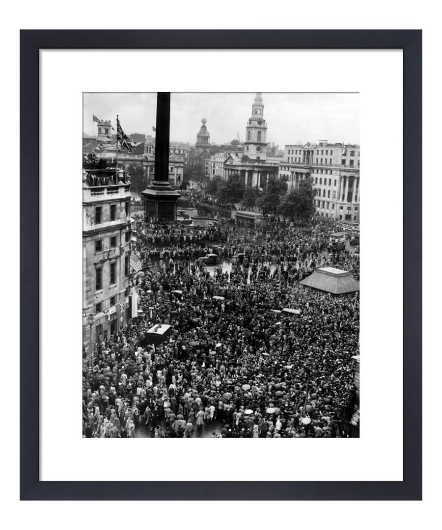 V J Day, 1945 framed print Sale - wall art