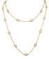 18k gold-plated & crystal necklace Sale - liv oliver Sale