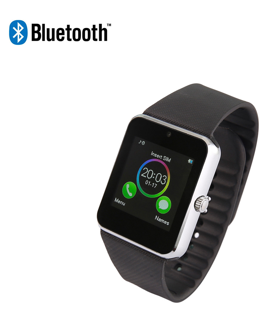 Silver-tone Bluetooth smartwatch  Sale - Inki
