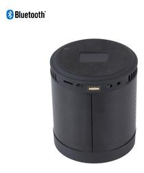 Black speaker & smartphone holder