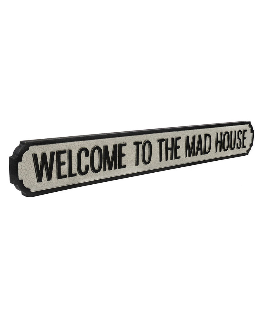c868f34e4c Welcome To the Mad House street sign Sale - VINTAGE STREET SIGN COMPANY