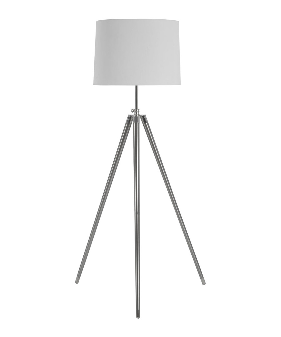 Unique cream iron tripod floor light Sale - Premier